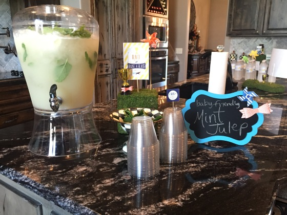 The yummiest mama-friendly mint julep!